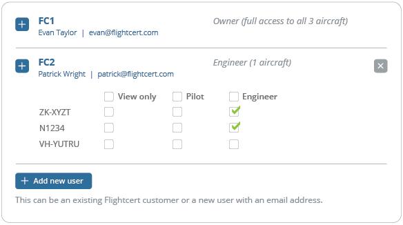 FlightCert | Aircraft maintenance tracking & scheduling software